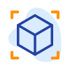 Icon of 3d model draft